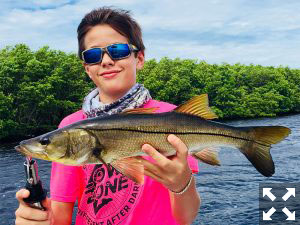 Hunter Naeve fishing Boca Grande.