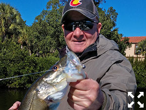 Angler Paul Ortenzio had a good day on Wednesday.
