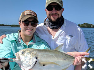 Jenna and Travis had a great day out on the water.